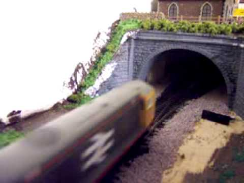 My Model Railway 9 Class 20 Pulling Tope Wagons)