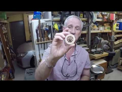 Make Spoked Wooden Toy Wheels