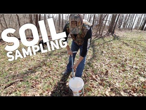 Food Plot Soil Samples in Rocky Soil S8 #77