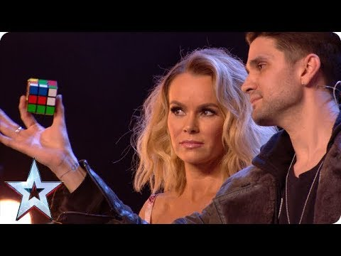 Magic man Maddox WOWS with Rubik's Cube wizardry! | Auditions | BGT 2018