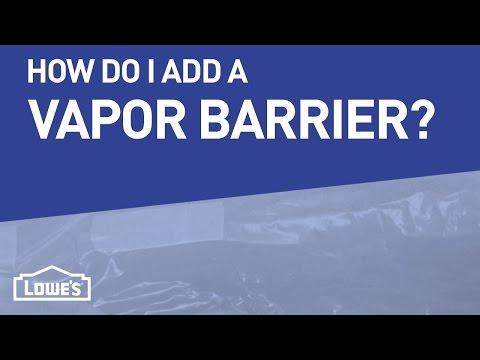How Do I Add A Vapor Barrier To My Crawl Space? | DIY Basics