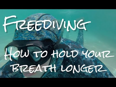 How to hold your breath for longer underwater | Freedive Training