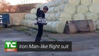 British entrepreneur builds an Iron Man-like flight suit