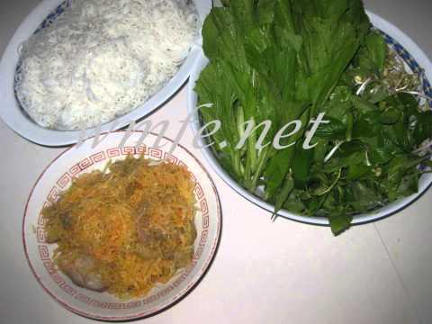 BUN MAM BAM - special homemade Vietnamese food
