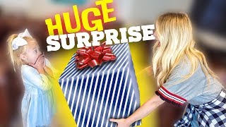 OUR BIG SISTER SURPRISE FOR EVERLEIGH MADE HER CRY!!!