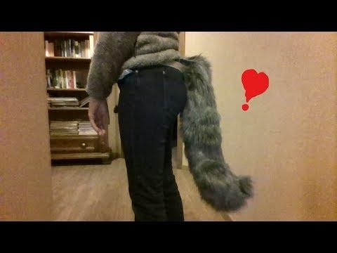 my new animatronic tail !!!