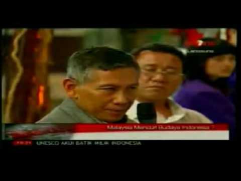 Malaysia tidak klaim budaya Indonesia Part 1 (BetterAudio/WideScreen)