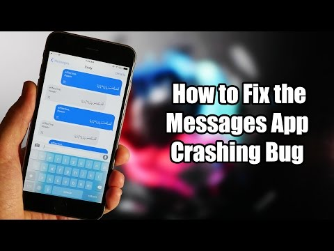 How to Fix the Messages App Crashing Bug