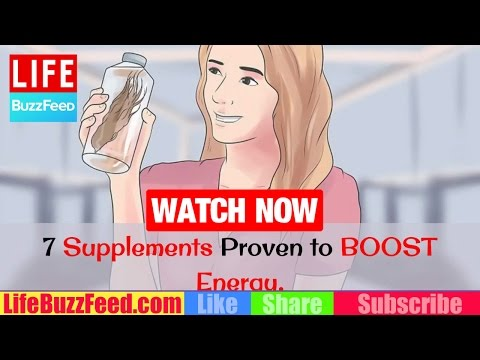 7 Supplements Proven to BOOST Energy & Health | What are the BEST Natural Energy Supplements?