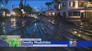 Surveying Mudslide Damage In Montecito