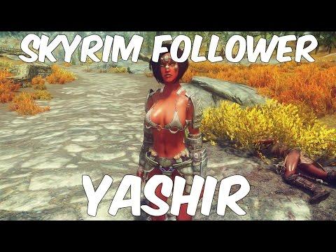 Skyrim Follower: Yashira