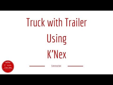 K'Nex Truck with Trailer