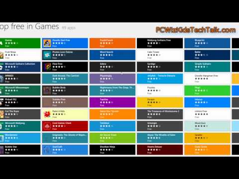 Windows 8 Store App - How to access it