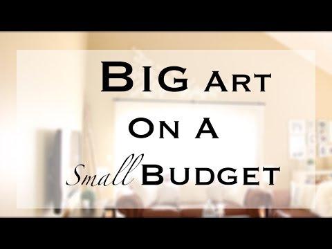 DIY Big/Large Wall Art