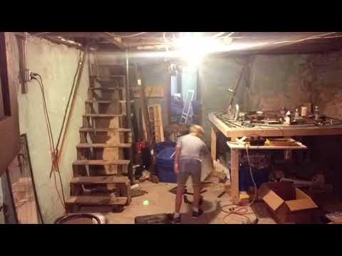 Cleaning The Basement | Time Lapse
