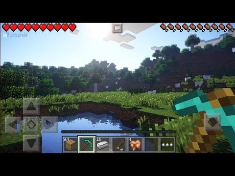 Minecraft PE 1.2 | EPIC SHADERS FOR MCPE 1.2!! + IOS/ANDROID DOWNLOAD LINK!! (Pocket Edition)