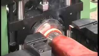 Thompson Friction Welding - Truck Axle Friction Welding Machines