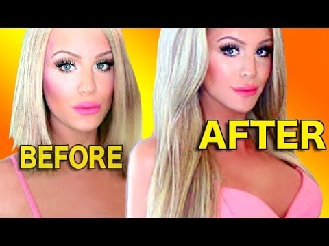 LONG STRAIGHT HAIR LOOK | Gigi