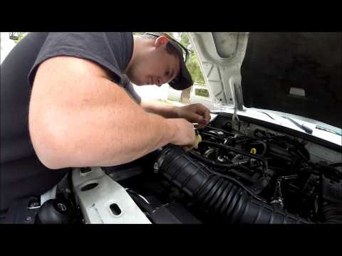 Ford Ranger MAF Sensor Cleaning