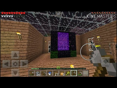 Mcpe Tree house Galore Ep. 8 Updates & Building the Nether Portal