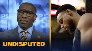 Steph Curry's legacy was 'strained' by the NBA Finals loss – Shannon Sharpe   NBA   UNDISPUTED
