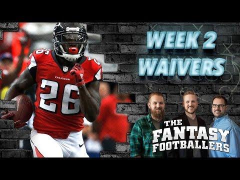 Fantasy Football 2016 - Waivers, Streams of the Week, Injury News - Ep. #263
