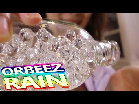 Pouring 10,000 Invisible Orbeez on my head - Crazy pinterest project