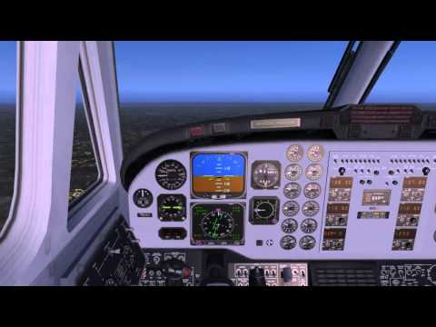 EGNX to EGSS (East Midlands to Stansted) FSX Flight #1