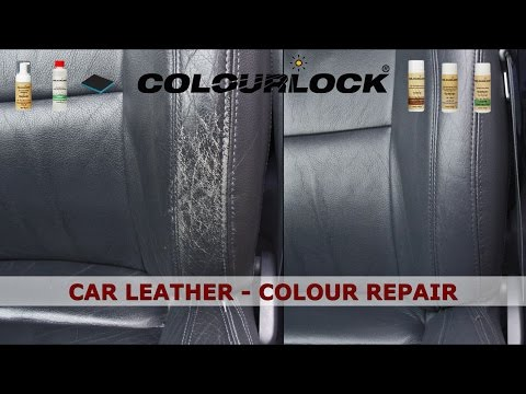 Car Leather - Cleaning - Colour Repair - Care