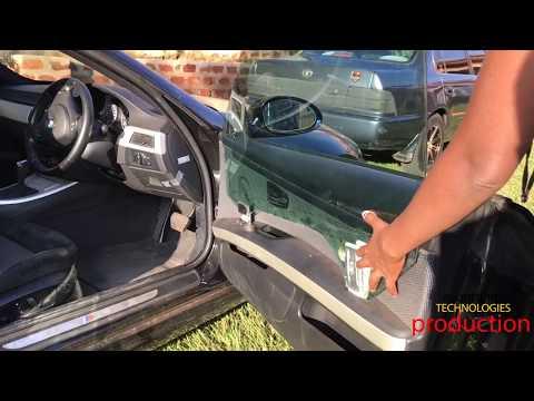 BMW DOOR Part-1| 👨🏽🔧Removing BMW Door Panel, Replacing Window Regulator and Door Glass Window 🚗💨💨💨