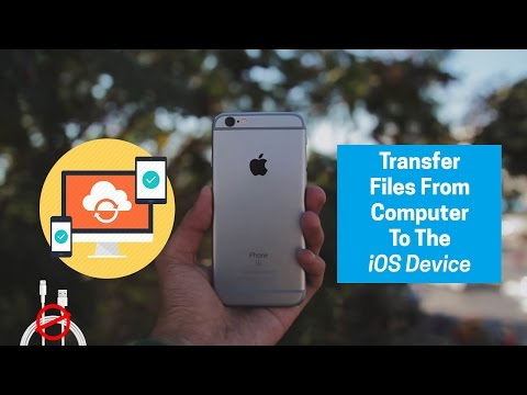 How to transfer Files from PC/MAC to iPhone/iPad/iPod: Without iTunes!