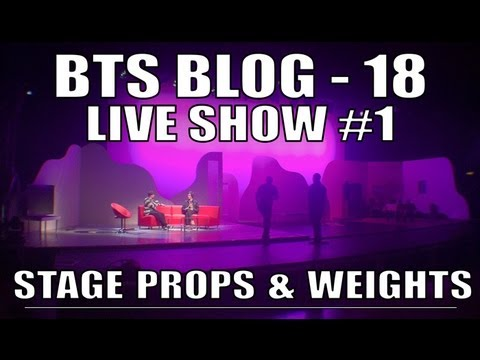 ReelDeal - LIVE SHOW 1 - Stage Props & Weights