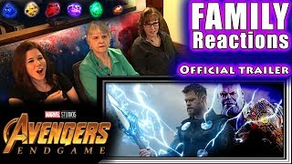 Download Avengers 4: ENDGAME | Official trailer | FAMILY Reactions Video