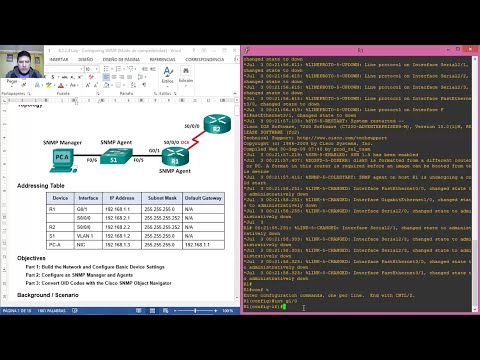 8.2.2.4 Lab - Configuring SNMP - GNS3