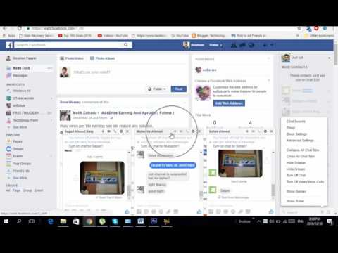 How To Collapse Chat Box On Facebook online classes # 14