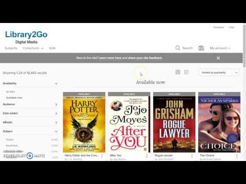 Did You Know? You can Get Ebooks & Audiobooks with your library card?