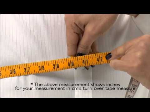 Jacket Measurements