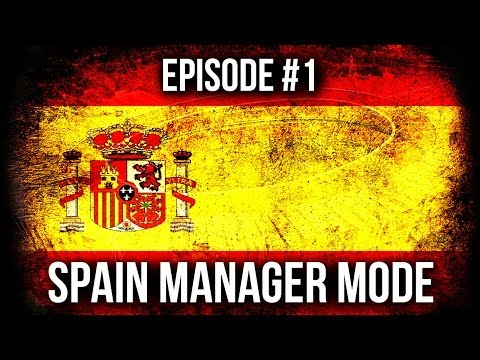 FIFA 14: Career Mode - Spain Manager! Episode #1