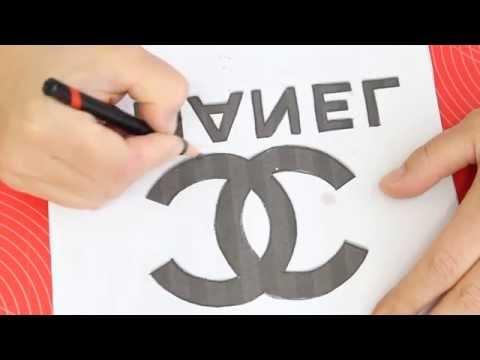 Kricky Cakes Decoration: Chanel logo painted to fondant