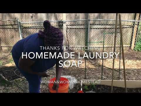 Laundry day Homemade Soap