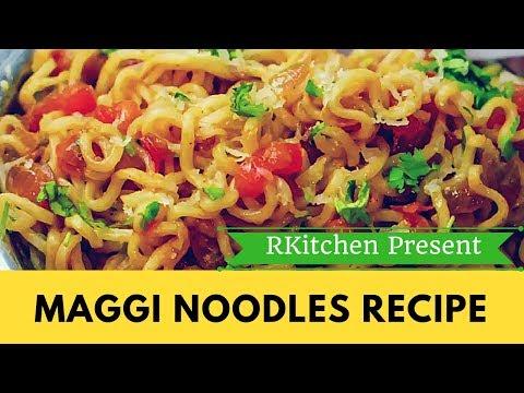 MAGGI RECIPE INDIAN STYLE - QUICK AND TASTY MAGGI RECIPE EVER