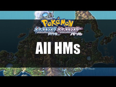 Pokemon Diamond & Pearl | All HM Locations