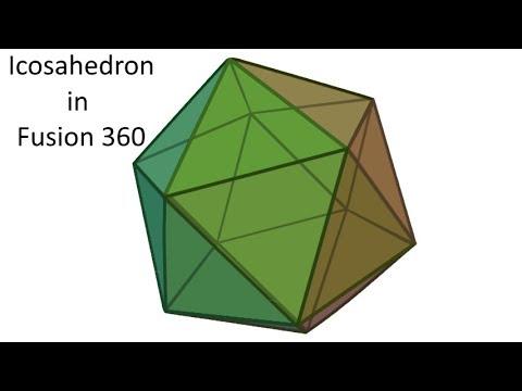 Icosahedron in Fusion 360