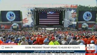 FULL SPEECH: President Trump Speech to 40,000 Boy Scouts at National Scout Jamboree