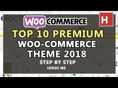 Top 10 best premium woocommerce WordPress themes 2018 in hindi