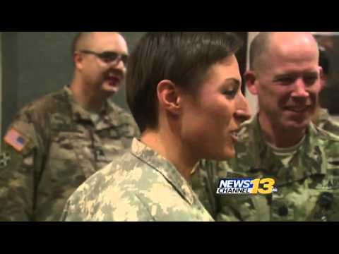 Female Army Ranger speaks to local media for the first time