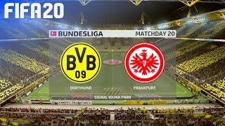 FIFA 20 - Borussia Dortmund vs. Eintracht Frankfurt @ Signal Iduna Park