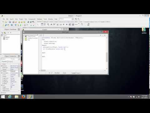 Delphi 7 -How to Writing To textfile