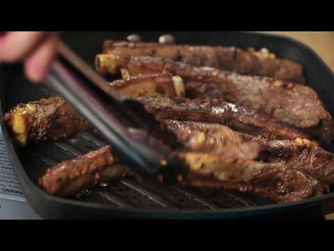 Grilled Pork Adobo Ribs