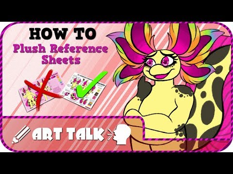 PLUSH REF SHEETS: How-to! ( ART TALK )